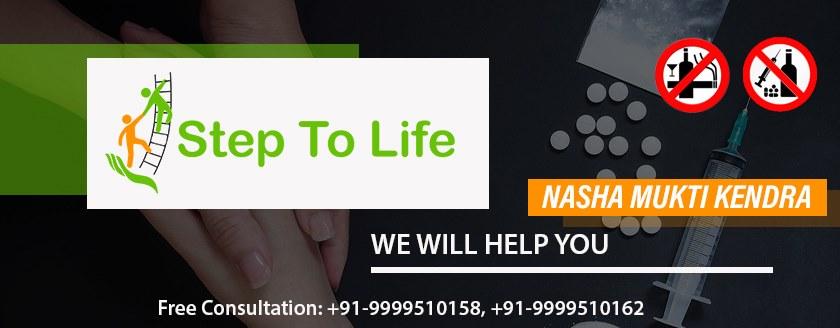Nasha Mukti Kendra in Noida | Steps to Life Foundation