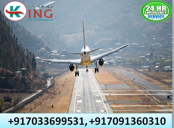Hire Top-Level Medical Facility Air Ambulance in Ranchi by King