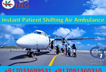 Book Superb Air Ambulance in Guwahati with MD Doctor by King